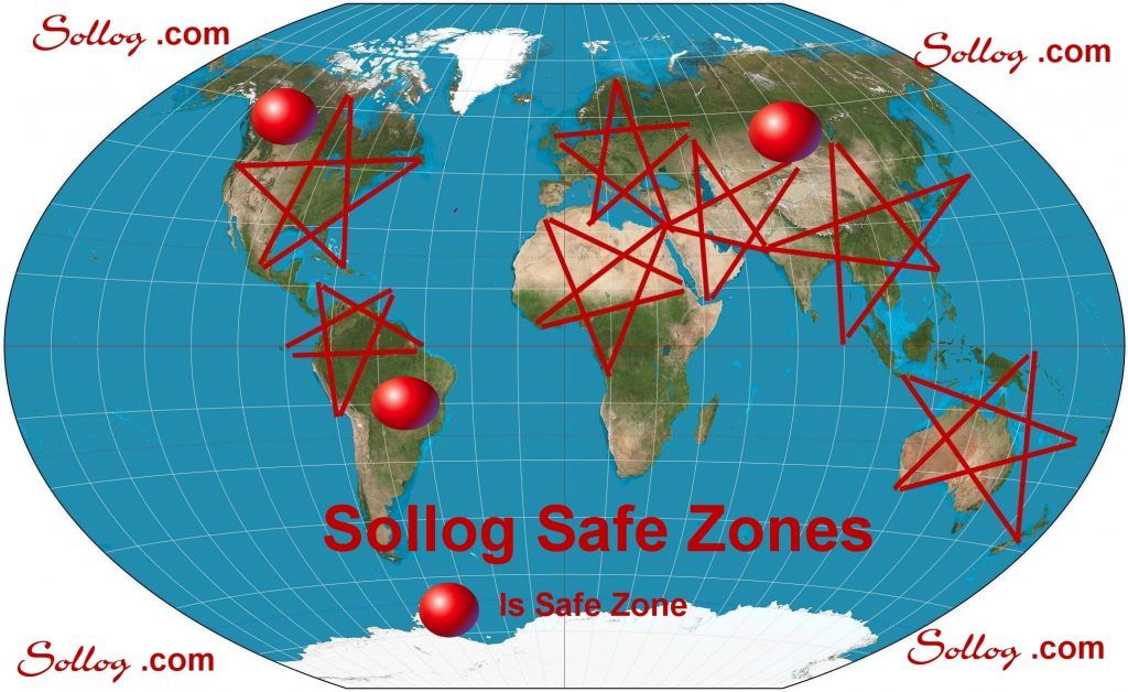 Sollog Safe Zones Map